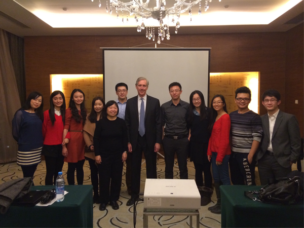 MFIN Alumni Connect with Prospective Students in China